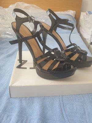 Schutz Sandalo con cinturino nero Pelle