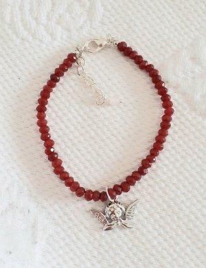 Schutzengel Armband, Rubin