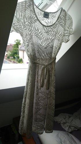Schwangerschafts-Häkel-Kleid, weiß, Größe S