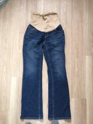 Jessica Simpson Jeans a gamba dritta color carne-blu acciaio