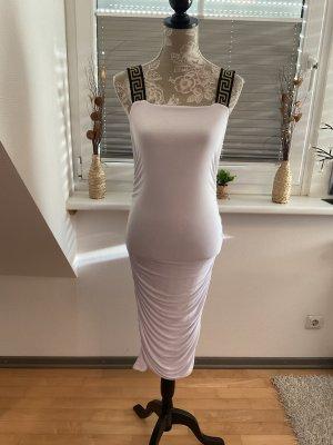Boohoo Stretch Dress white-black