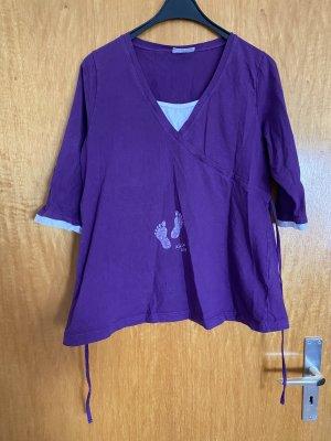 C&A Wraparound Shirt lilac