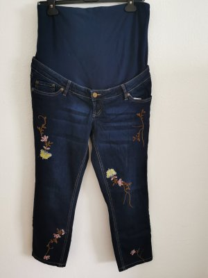 bpc Jeans met rechte pijpen donkerblauw