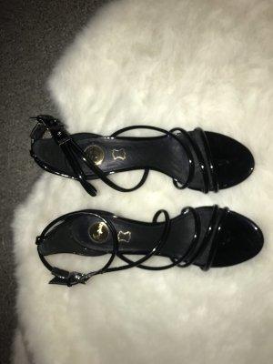 Schwartz sandalen