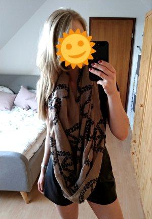 Summer Scarf black-grey brown
