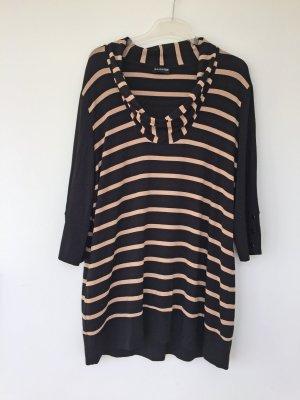 Samoon by Gerry Weber Koszulka z dekoltem woda czarny-kremowy