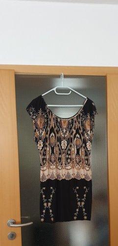 Buffalo Sukienka plażowa czarny-beżowy