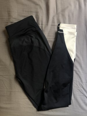 Schwarz blau weiße Sporthose