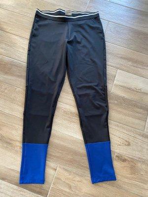 Active Touch Spodnie sportowe czarny-niebieski Poliester