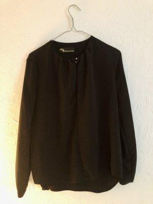 Schwarz blouse - designer