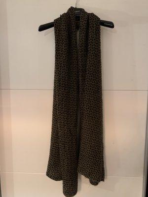 Schwarz-brauner Schal