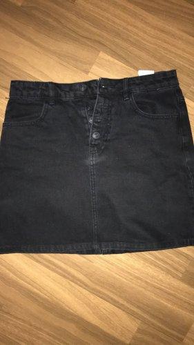 Pimkie Gonna di jeans nero Cotone