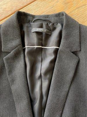Schwarz gemusterter Blazer von Esprit