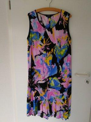 Liola Robe de plage multicolore lycra