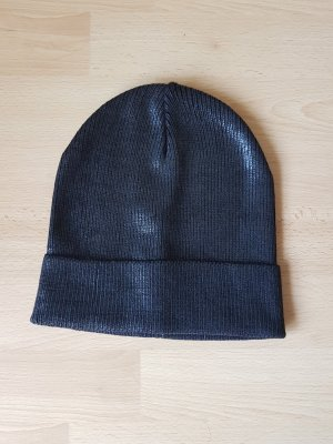 Bershka Fabric Hat black