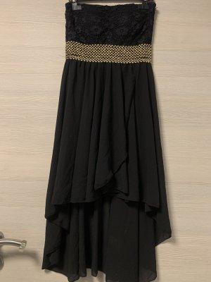 Schwarz/Goldenes Kleid