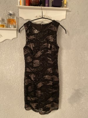 Only Vestido de lentejuelas negro