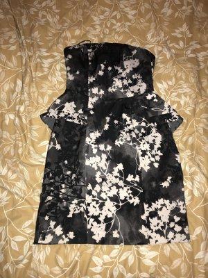 Schwarz, grau, Beiges festliches H&M Kleid
