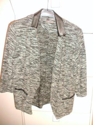 C&A Long Blazer grey-black polyester