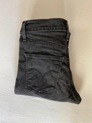 Schwarz / graue Levi's Hose