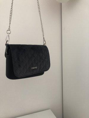 Schwarz-Graue O-bag Tasche
