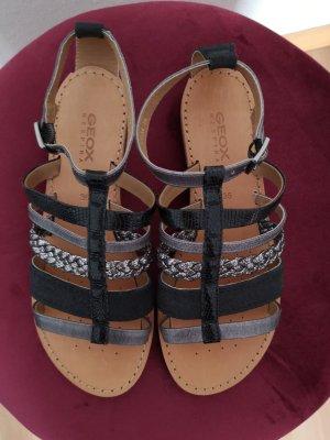 Schwarz-graue Sandalen von Geox