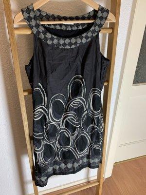 schwarz graues Business Etuikleid von Promod in 36 S