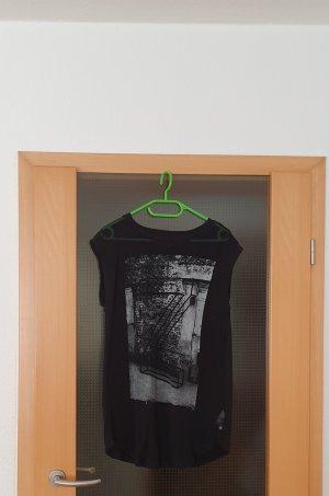 s.Oliver T-shirt nero-grigio chiaro