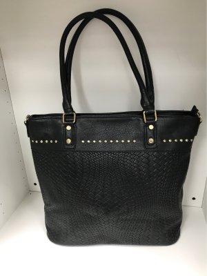 Schwarz handtasche shopper