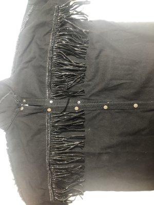 Zara Blazer en jean noir