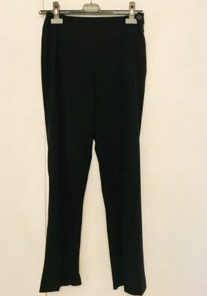 Strenesse Pantalone peg-top nero Tessuto misto