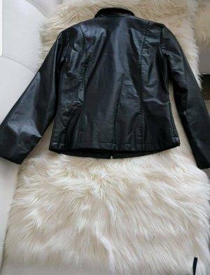 Schwarz Jacke Größe S