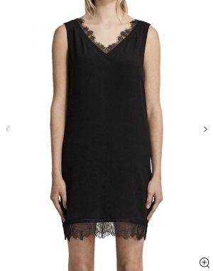 Schwarz Kleid mit Spitze gr XS/S Allsaints