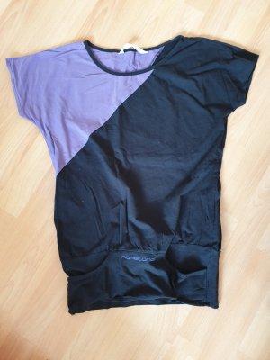 Schwarz - Lila T-shirt