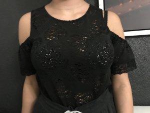 LC Waikiki Camisa de malla negro
