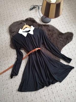 Sweater Dress white-black