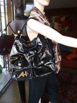Anya hindmarch Sac Baril noir cuir