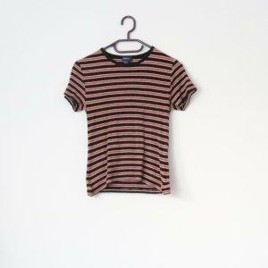 Forever 21 T-shirt nero-arancione scuro