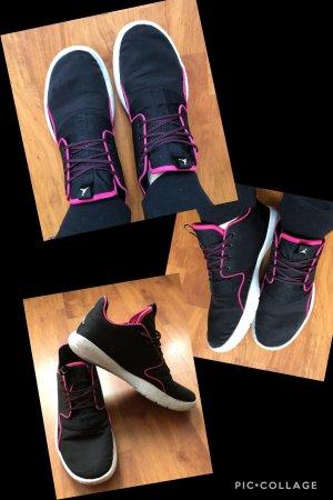 Schwarz Pinke Jordan Sneakers 39
