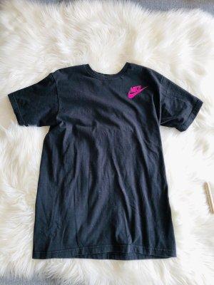 Schwarz pinkes Nike Shirt S