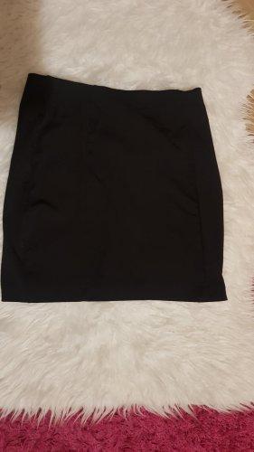 Page one Falda de lino negro