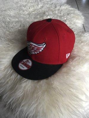 Gorra de béisbol negro-rojo