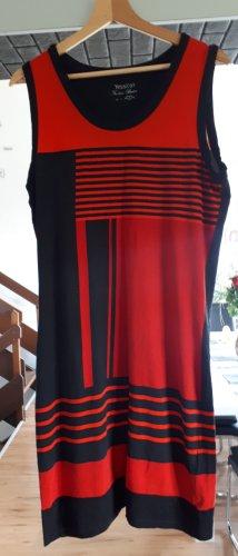 C&A Robe de plage noir-rouge