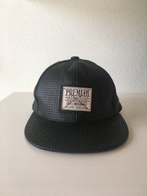 schwarz Struktur Camp Kappe Mütze hat Premier streetwear cool lässig