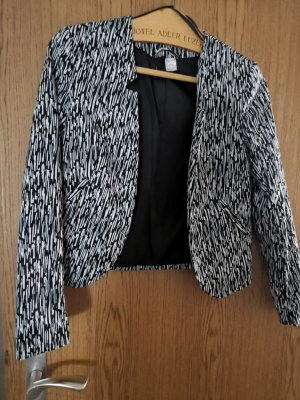 schwarz-weiß Blazer