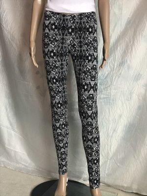 FB Sister Legging noir-blanc coton