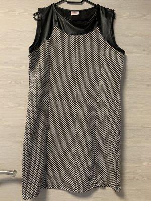 Infinity woman Midi Dress black-white