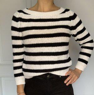 Comptoir des Cotonniers Maglione lavorato a maglia bianco-nero