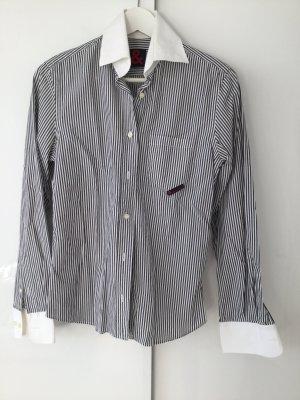 Schwarz-weiß gestreifte Bluse von D&G