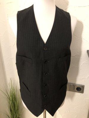 Gilet de costume noir-blanc